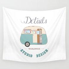 Logo DSD Wall Tapestry
