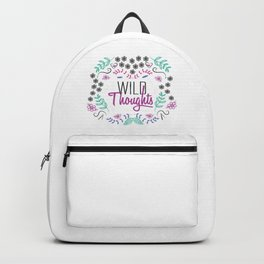 wild Thoughts Floral Backpack
