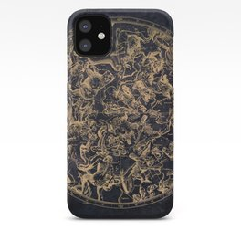 Vintage Constellations & Astrological Signs | Yellowed Ink & Cosmic Colour iPhone Case