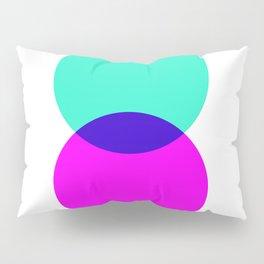 Electric Turquoise + Magenta Pillow Sham