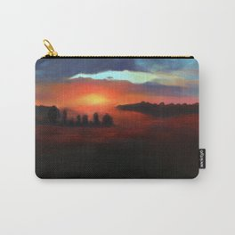 Landscape Series - Transition From Dawn Carry-All Pouch