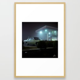 York Road Framed Art Print