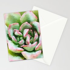 Spring Succulent Stationery Cards