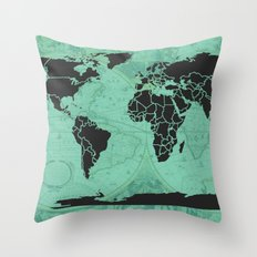 Paradigm Time Throw Pillow