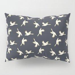 in flight-blue Pillow Sham