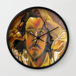 The Desperate Man Wall Clock