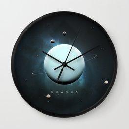 A Portrait of the Solar System: Uranus Wall Clock