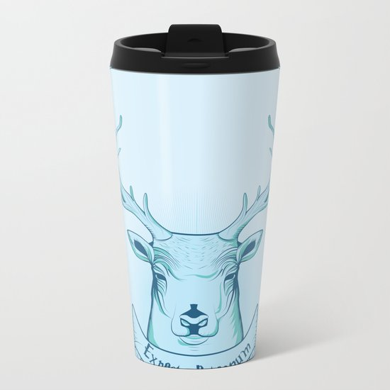 Expecto Patronum- Harry Potter Metal Travel Mug