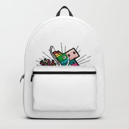 LIFE IS A PARTY AND I AM THE PINATA BDSM SUB SLAVE Backpack