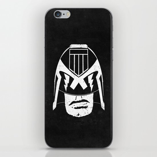DREDD! iPhone & iPod Skin