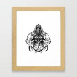 Held Heads Framed Art Print
