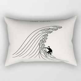 Crowd Surfing Rectangular Pillow
