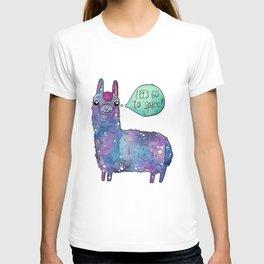 Cosmic lama T-shirt