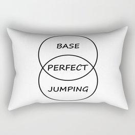 Base Jumping Rectangular Pillow