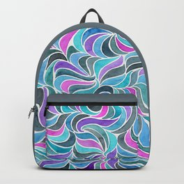 Currents - Blue and Pink Backpack