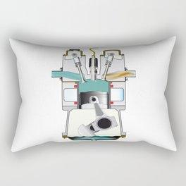Induction Stroke Rectangular Pillow