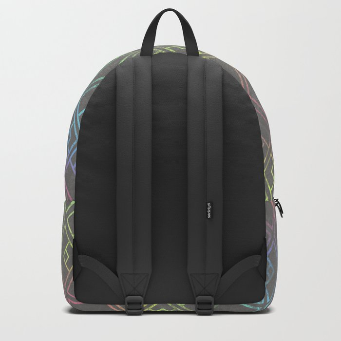 Square Patina Backpack
