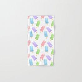 Popsicle Pattern Hand & Bath Towel
