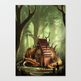 DragonHouse Canvas Print