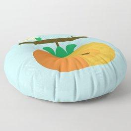 Fruit: Persimmon Floor Pillow
