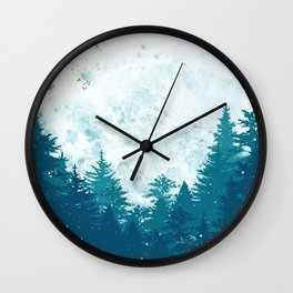 Forest of Imagination Wall Clock
