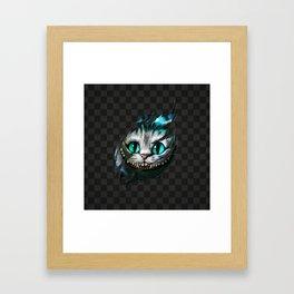 Chesire - Smile Framed Art Print