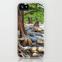 Guadalupe River in Texas iPhone Case