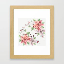 Poinsettia 2 Framed Art Print
