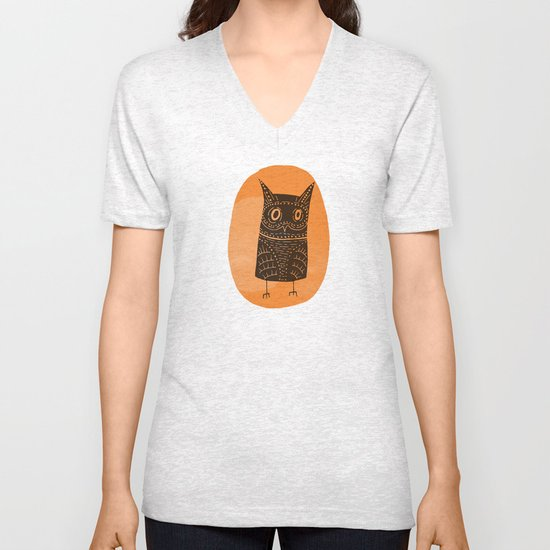 This is my owl Unisex V-Neck