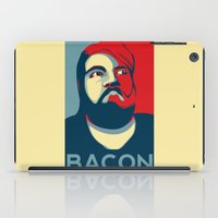 bacon iPad Cases featuring BACON by MezmoreyezGaming