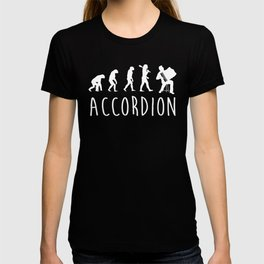Accordion Evolution T-shirt