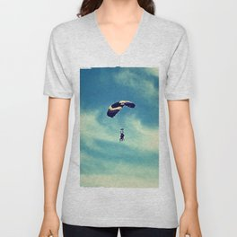 Flying Unisex V-Neck