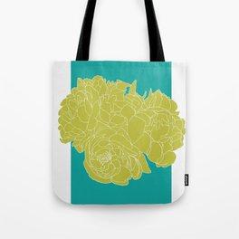 Floral Greens Tote Bag