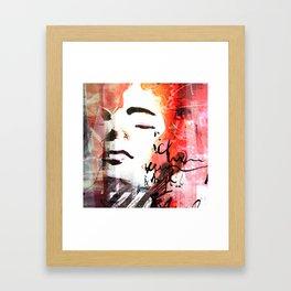 Concentration, square version Framed Art Print