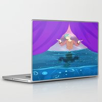 future Laptop & iPad Skins featuring Future by John-Ace