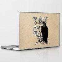 raven Laptop & iPad Skins featuring Raven by Кaterina Кalinich