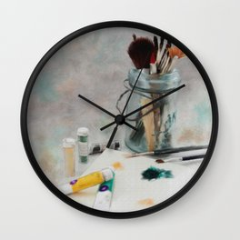 Time to Paint Wall Clock