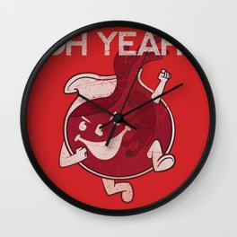 OH YEAH! Wall Clock