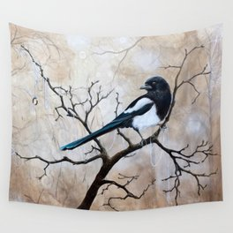 Promise - Magpie Wall Tapestry