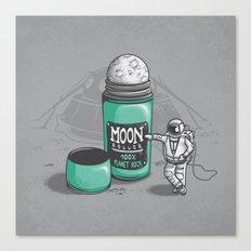 Moon Roller Canvas Print
