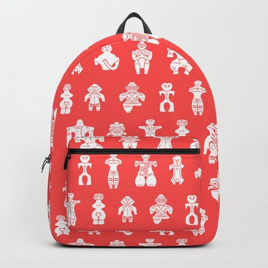 DOGU : red Backpack