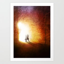 A Walk to Remember Art Print