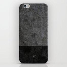 Dark luxury concrete  iPhone Skin