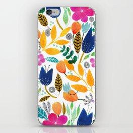 Flower Mayhem iPhone Skin