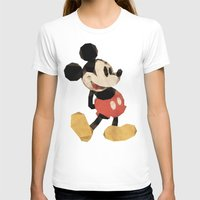 mickey T-shirts featuring Mr. Mickey Mouse by Ed Burczyk