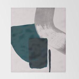 minimalist painting 02 Throw Blanket