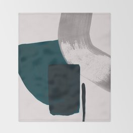 minimalist painting 02 Throw Blanket