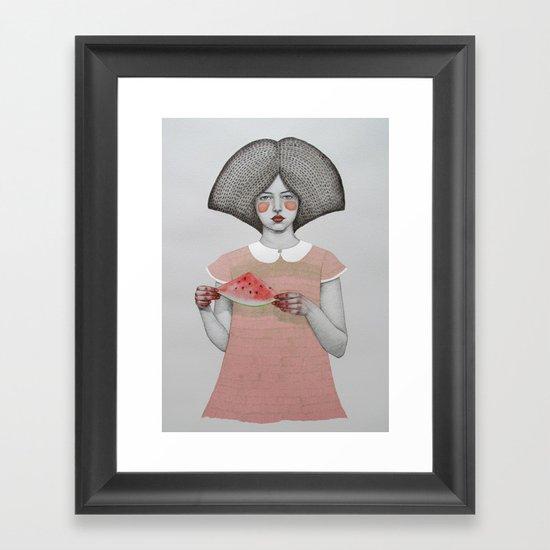 Zora Framed Art Print