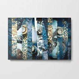 Bolts Metal Print