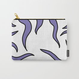 Purple Tentacle Blop Carry-All Pouch